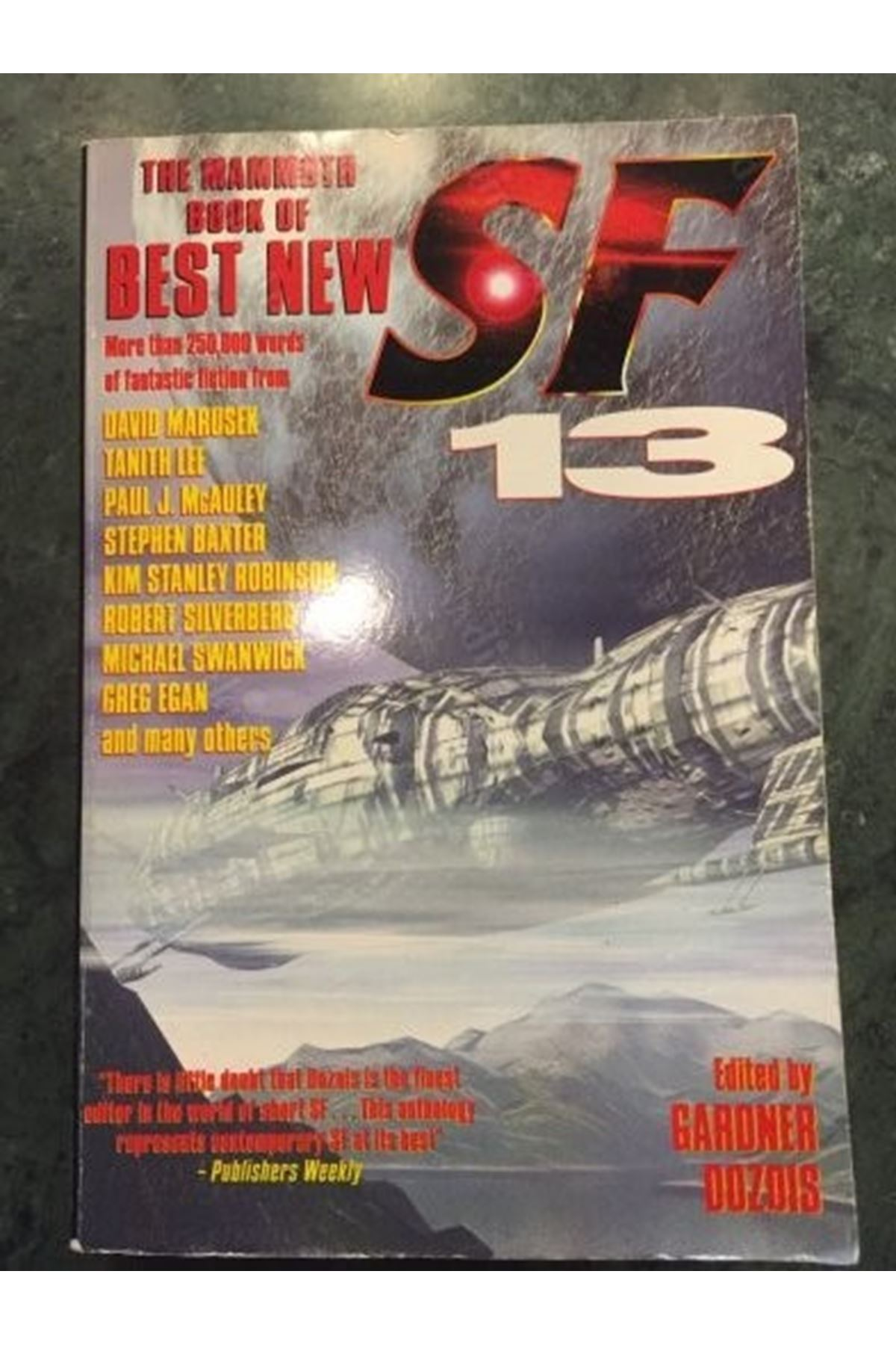THE MAMMOTH BOOK OF BEST NEW - SCIENCE FICTION 13