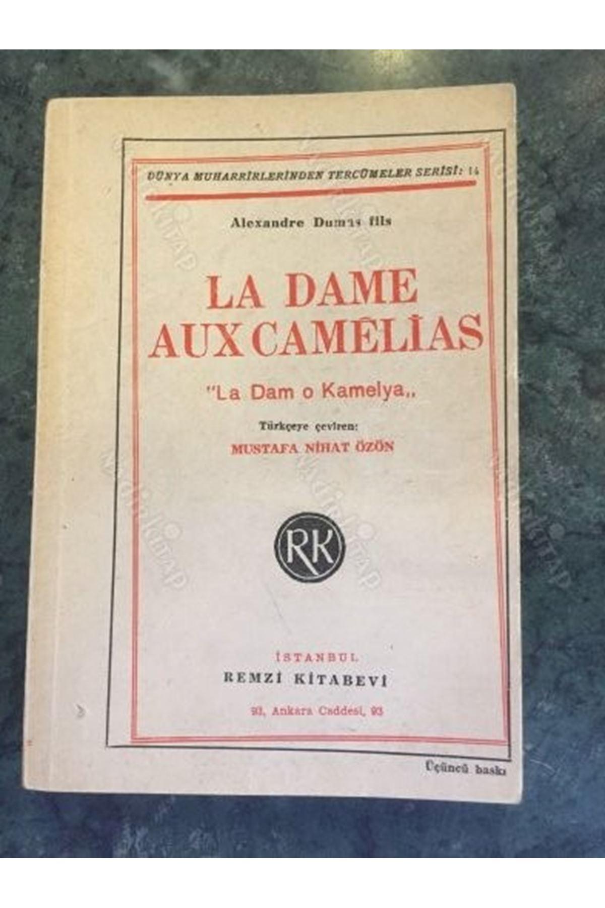 ALEXANDRE DUMAS FILS - LA DAME AUX CAMELIAS