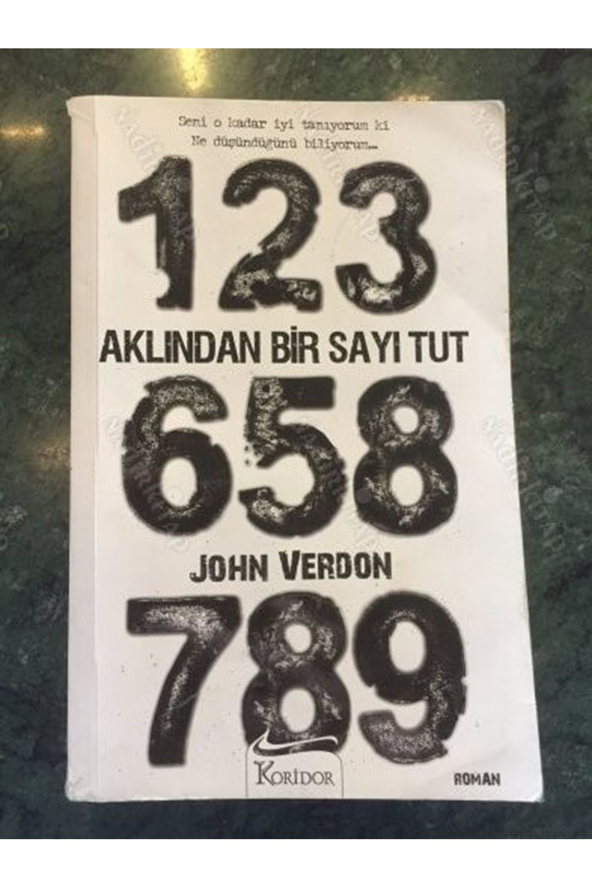 JOHN VERDON - AKLINDAN BİR SAYI TUT