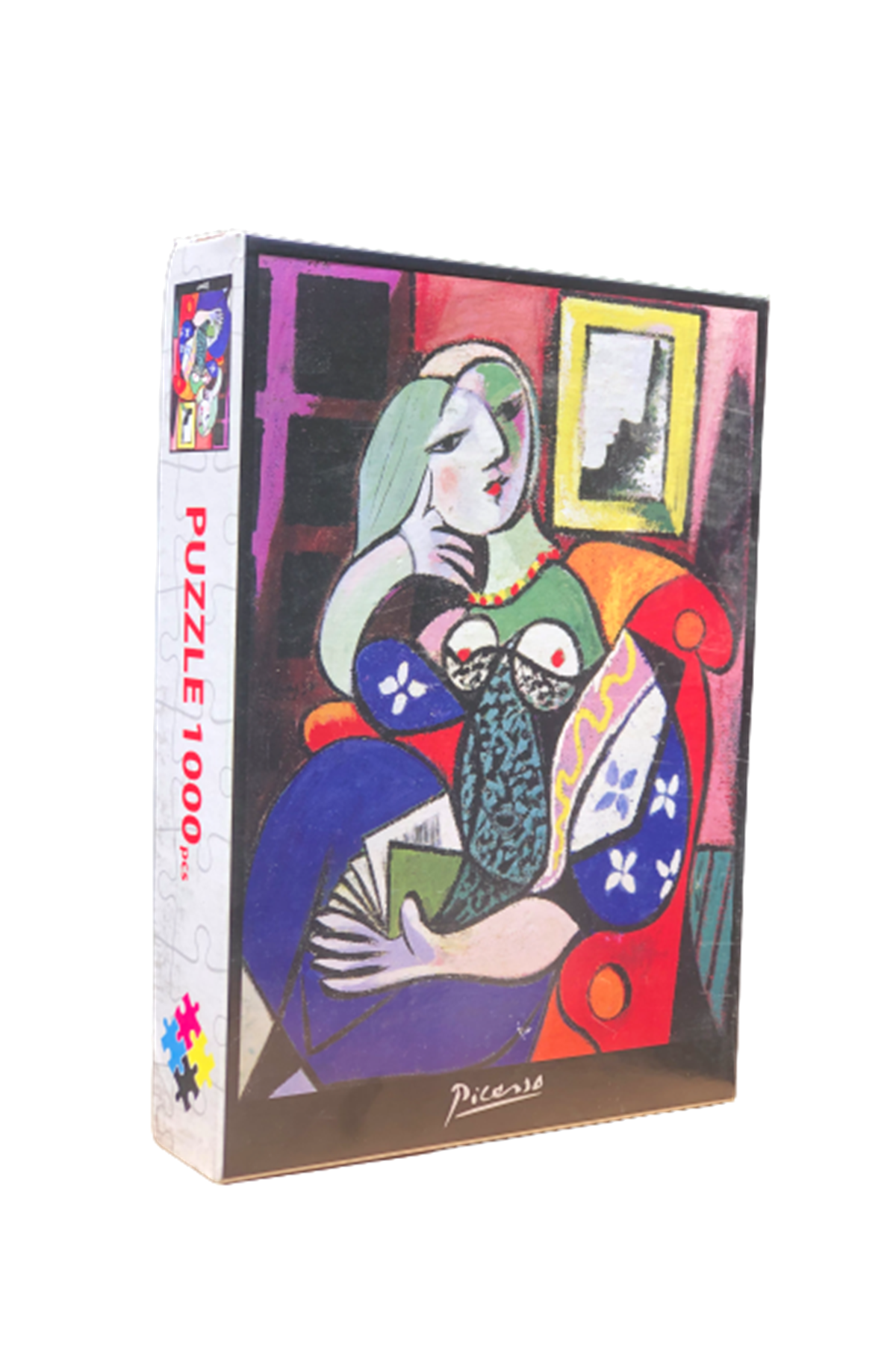 PICASSO LADY WITH BOOK - PUZZLE 1000 PARÇA