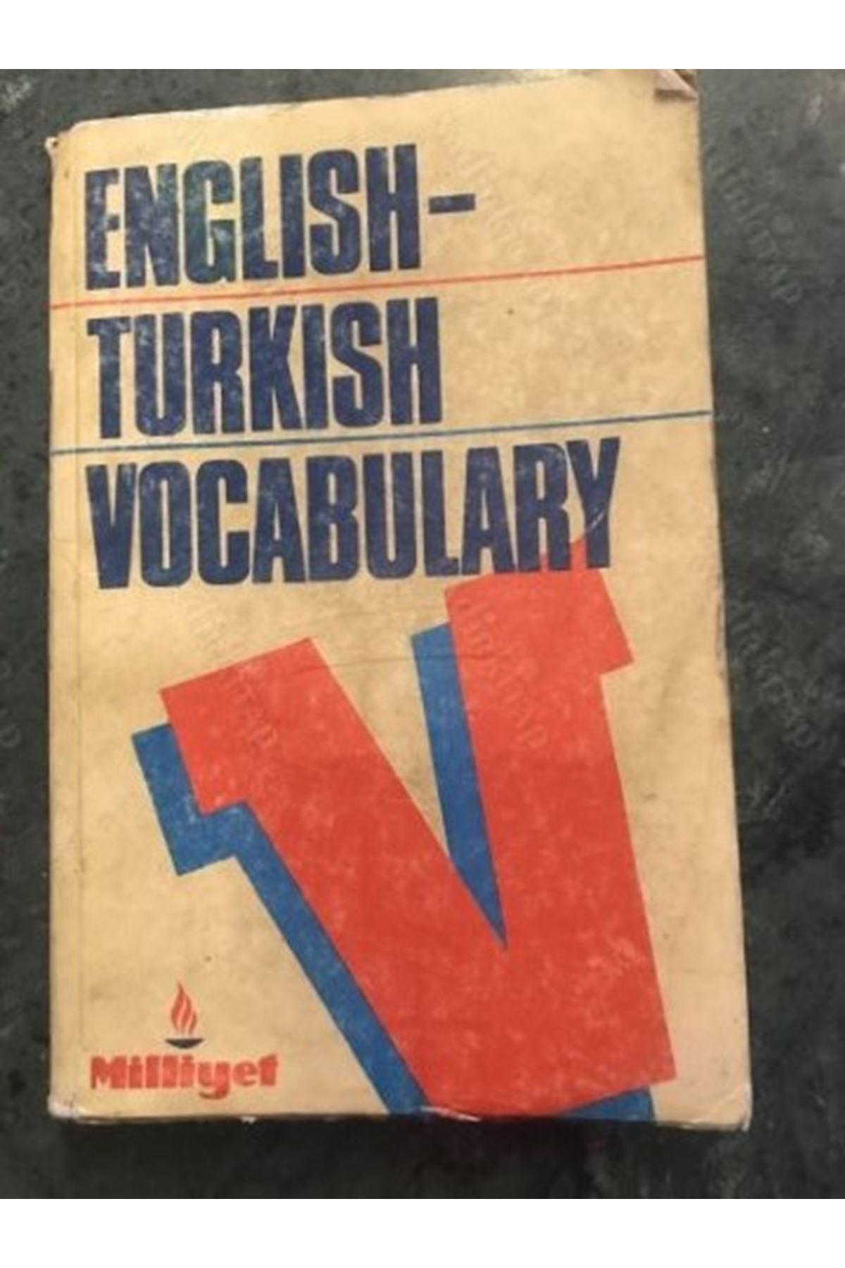 ENGLISH TURKISH VOCABULARY