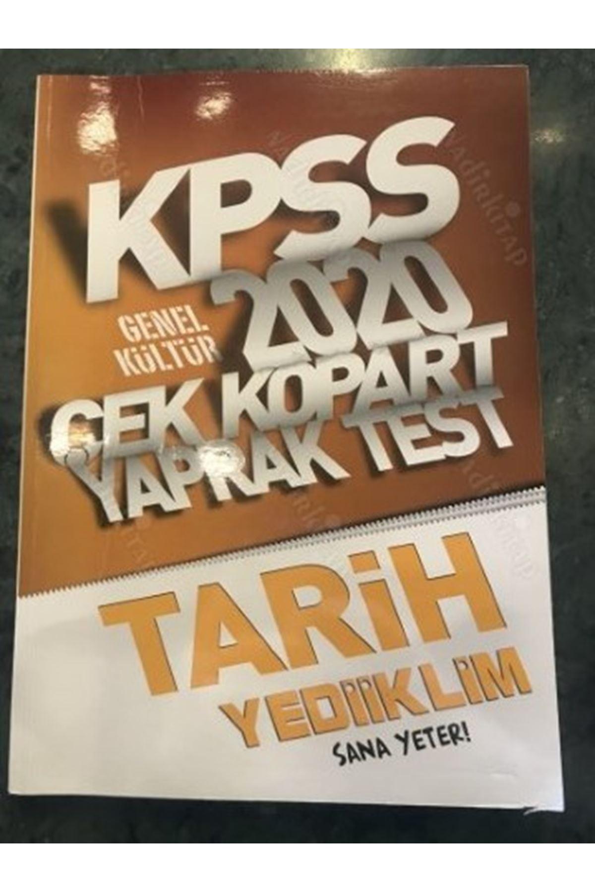 KPSS 2020 ÇEK KOPART YAPRAK TEST TARİH