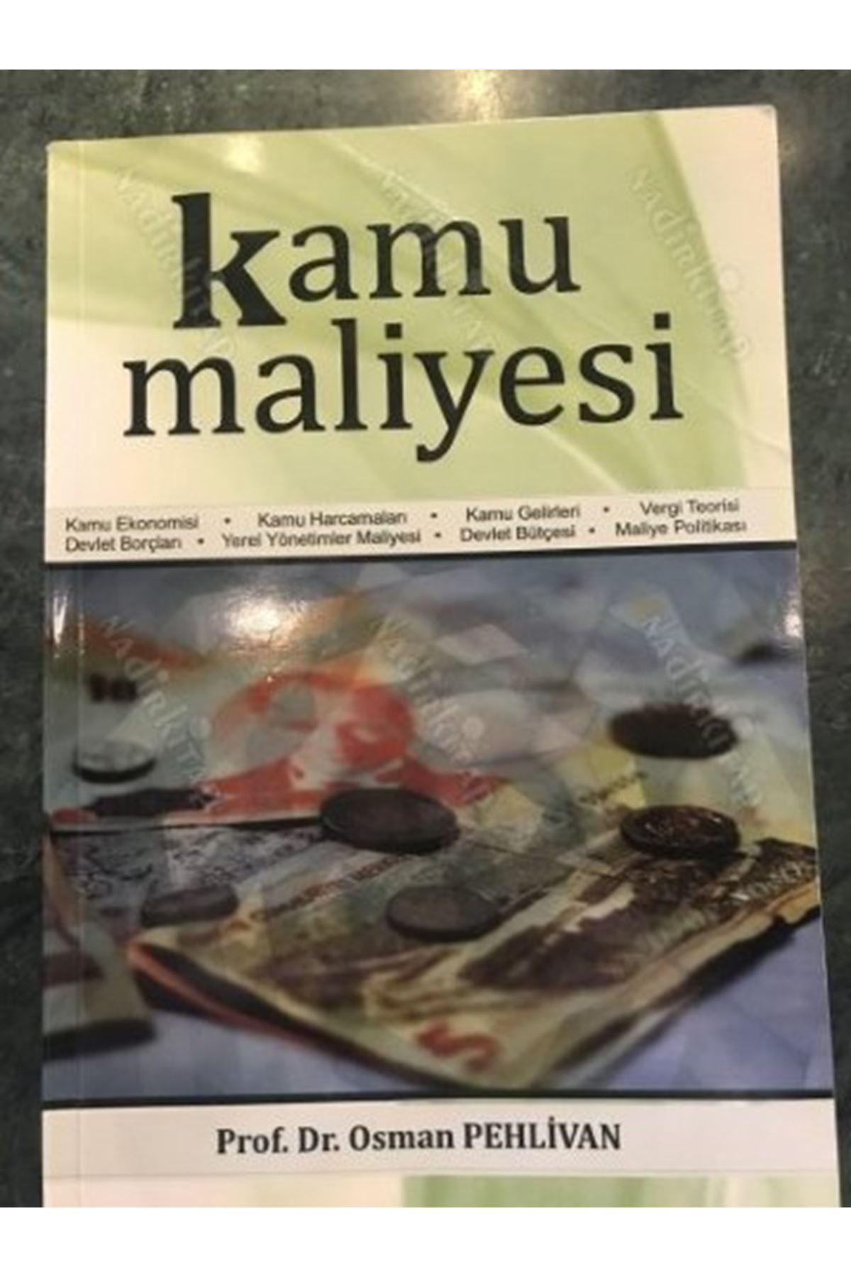 OSMAN PEHLİVAN - KAMU MALİYESİ