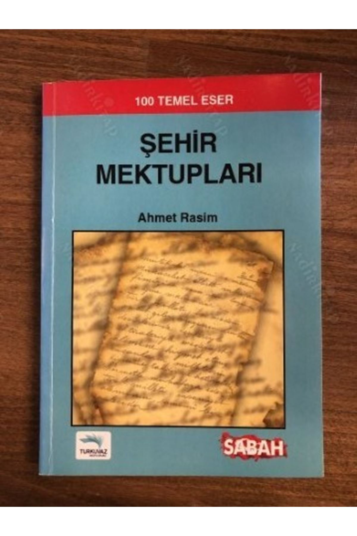 AHMET RASİM - ŞEHİR MEKTUPLARI