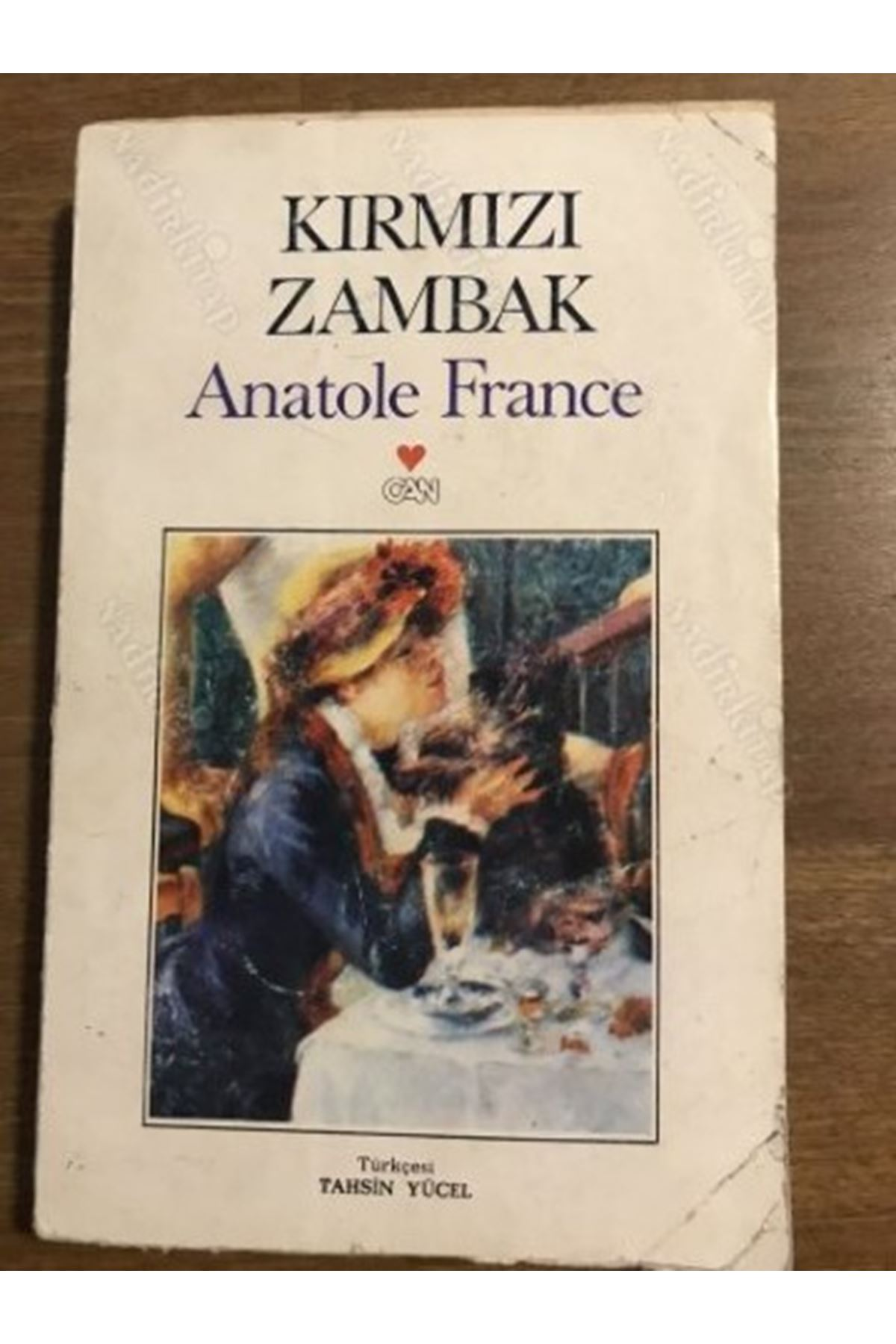 ANATOLE FRANCE - KIRMIZI ZAMBAK